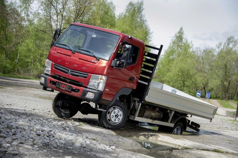 מגניב מיצובישי קאנטר 4x4 חדשה | חדשות משאיות, מסחריות וטנדרים AM-05