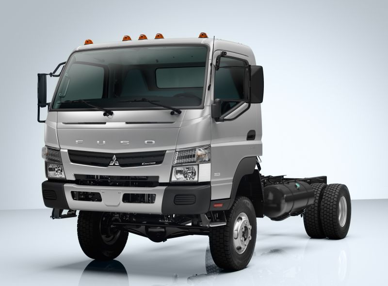 בנפט מיצובישי-פוסו קאנטר 4x4 ל-2014 | חדשות משאיות, מסחריות וטנדרים FE-43