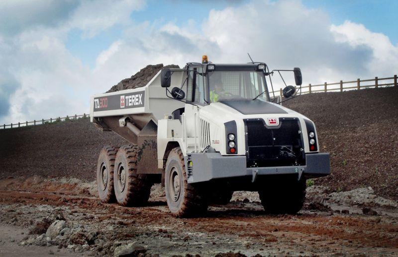 משאית עפר טרקס TA300