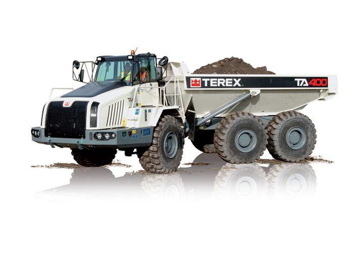 משאית עפר טרקס TA400